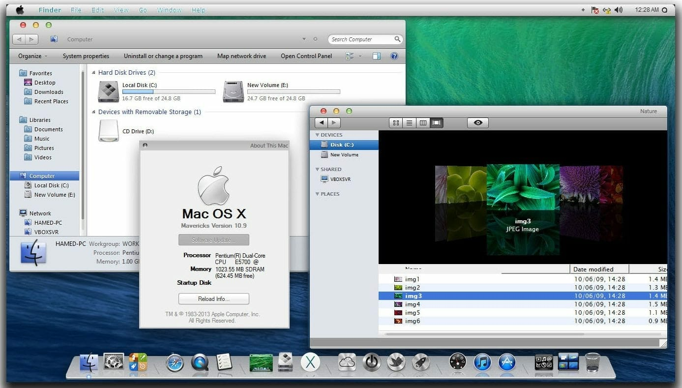 windows 8.1 mac os x