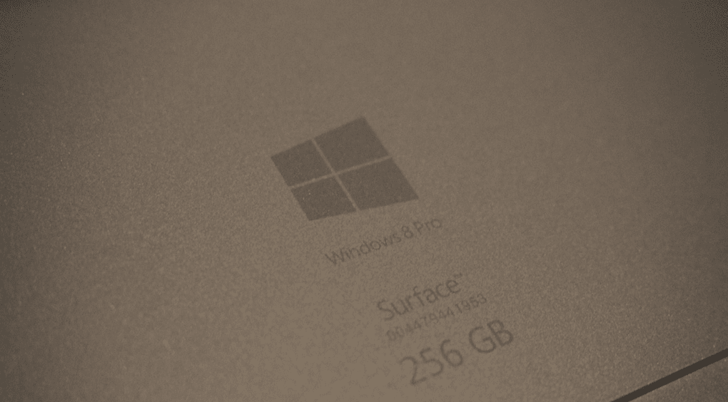 Surface Pro 3 Back