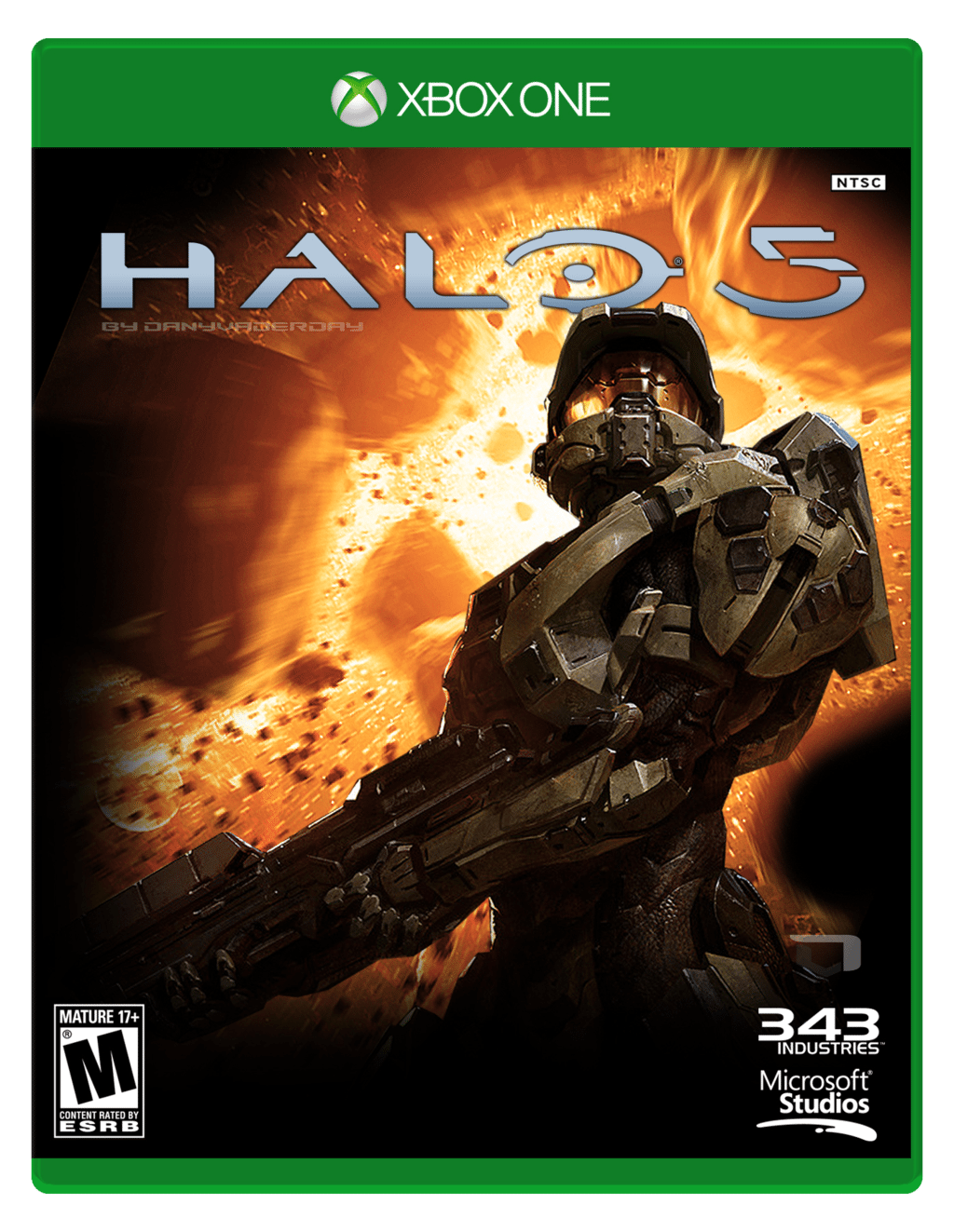 Halo 5 Guardians Cover Halo 5 Guardians Box Cover