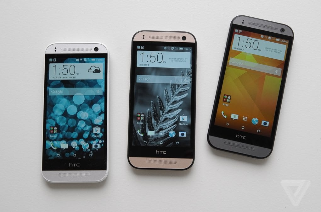 HTC One Mini M8 Design