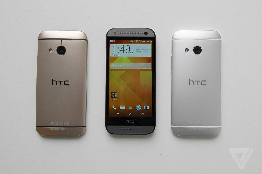 HTC One Mini M8 Front Look