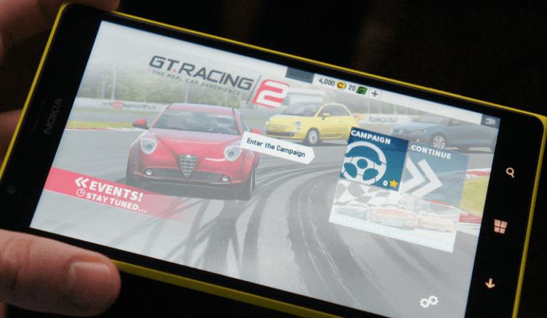 GT Racing 2 Windows Phone