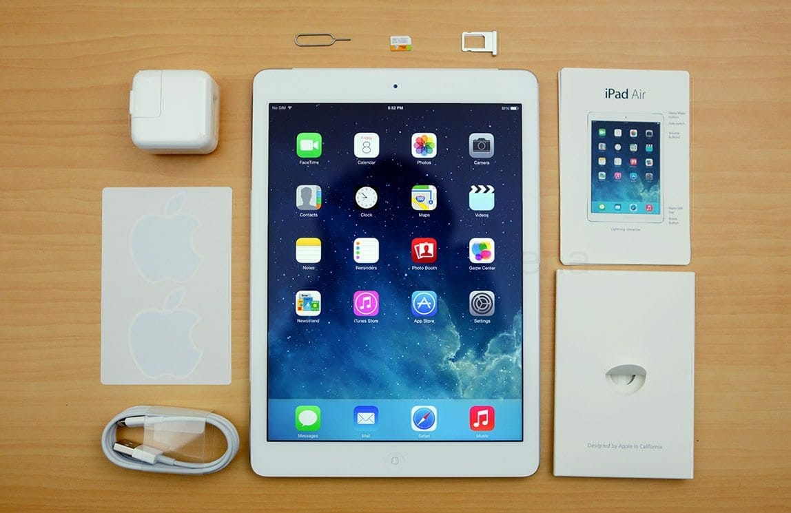 New iPad Air revealed; same design, changes inside ...