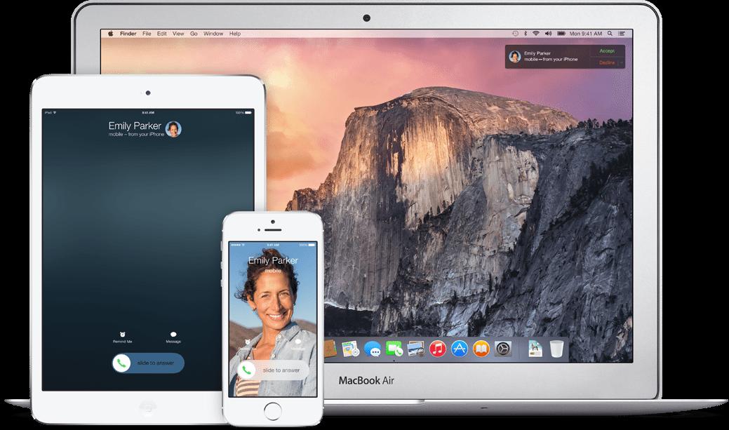 Apple iOS 8 Mac OS X