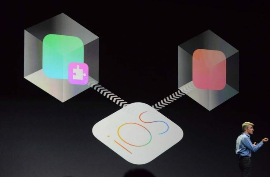 how to quickly respond on ios 8