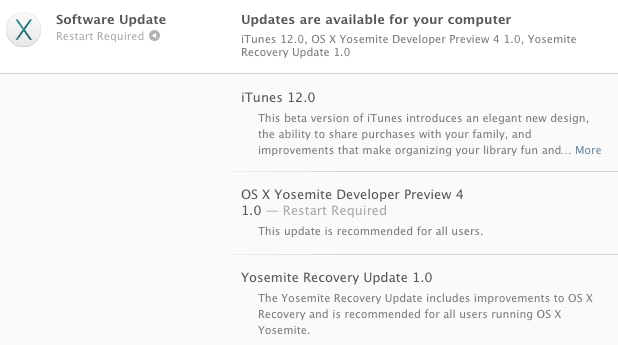 OS X Yosemite Developers Preview