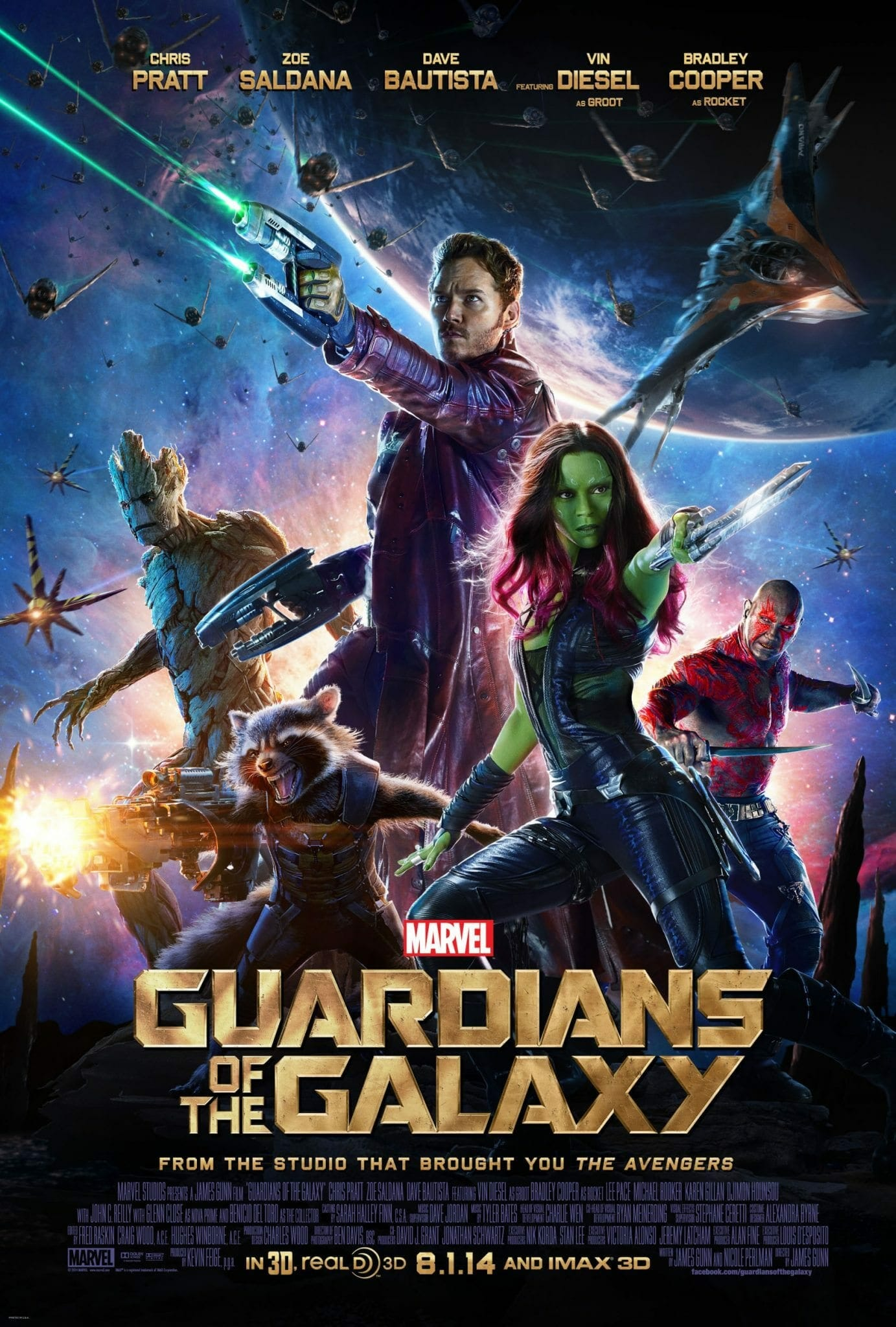 Guardians of the Galaxy almost-cast