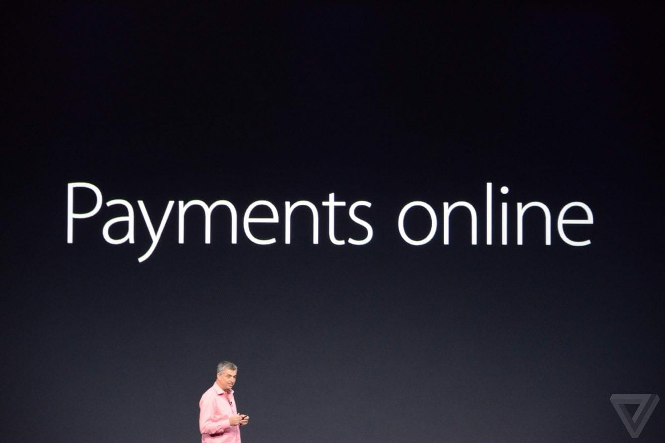 how to pay with apple pay online as interac
