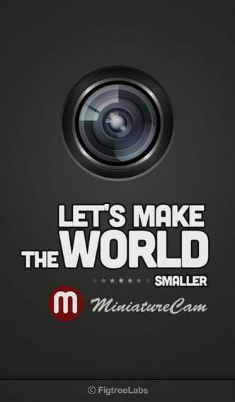 MiniatureCam - TiltShift Generator-ios apps