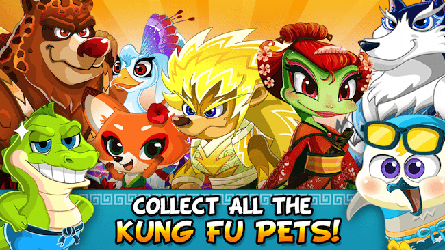 Kung Fu Pets Game