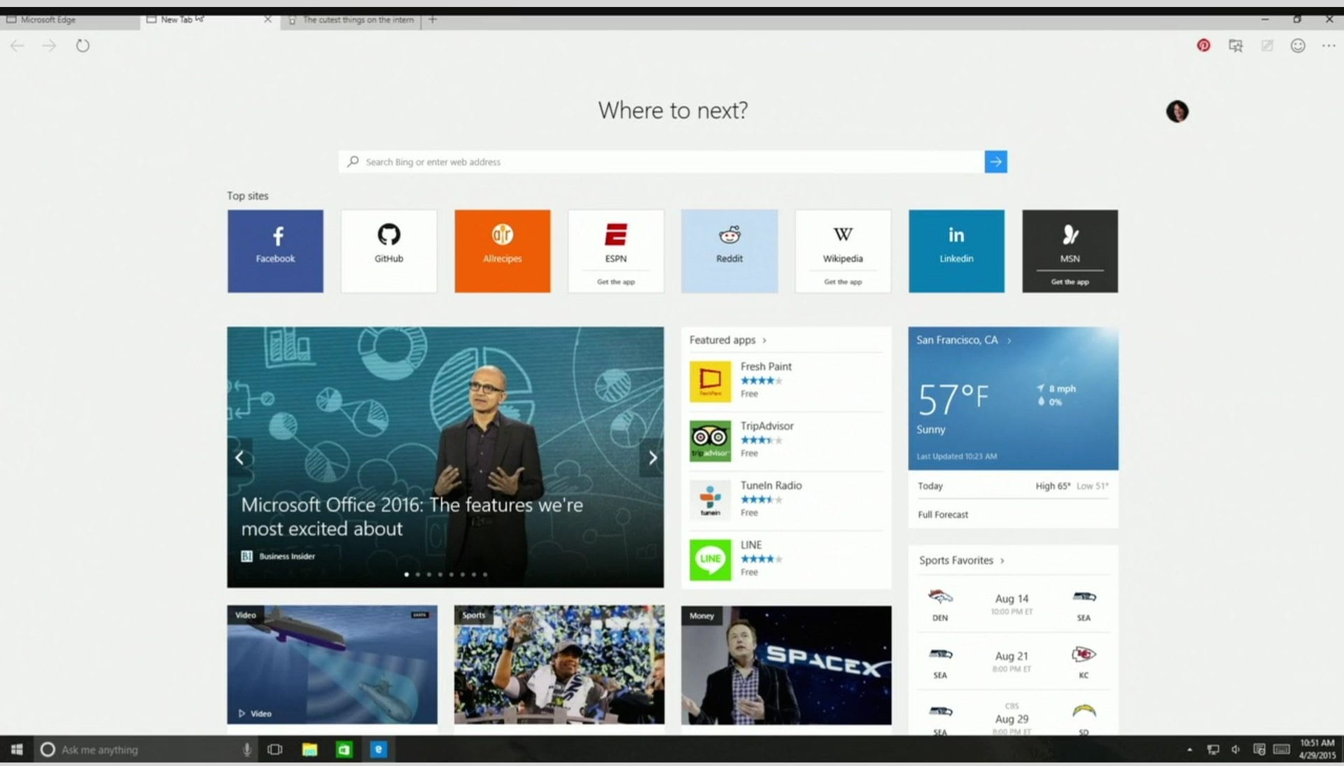 Microsoft Edge Your New Internet Explorer Thenerdmag