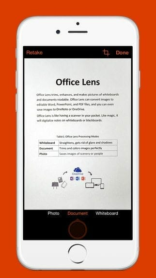 Office Lens-iOS