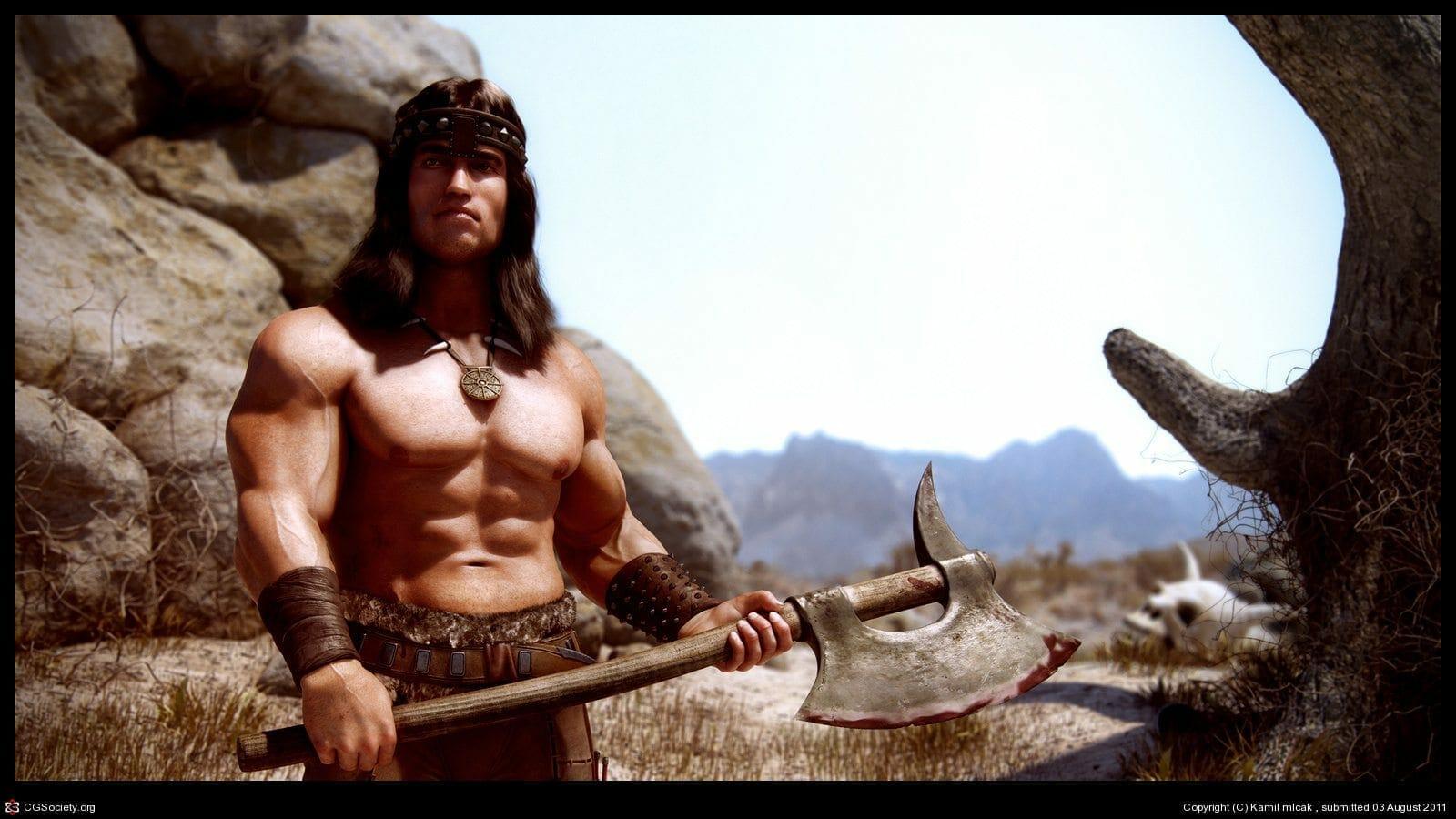 Conan The Barbarian 2 In Making Thenerdmag