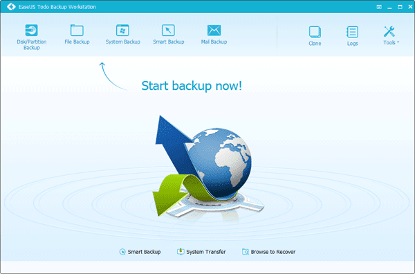 Clone Software - EaseUS Todo Backup is an Affordable and Easy to Use Backup Software for Windows