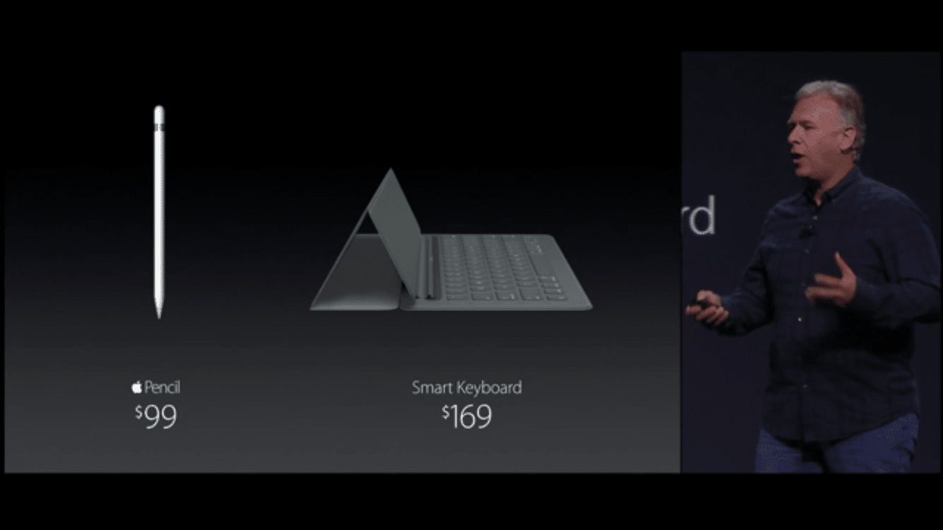 Apple Pencil and Keyboard