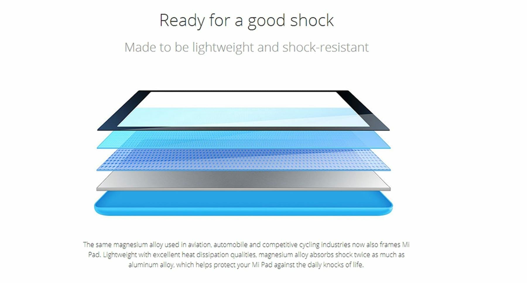 XiaoMi Mi Pad Shock - XiaoMi Mi Pad 8MP Camera, 2GB Ram and 6700 mAh Battery