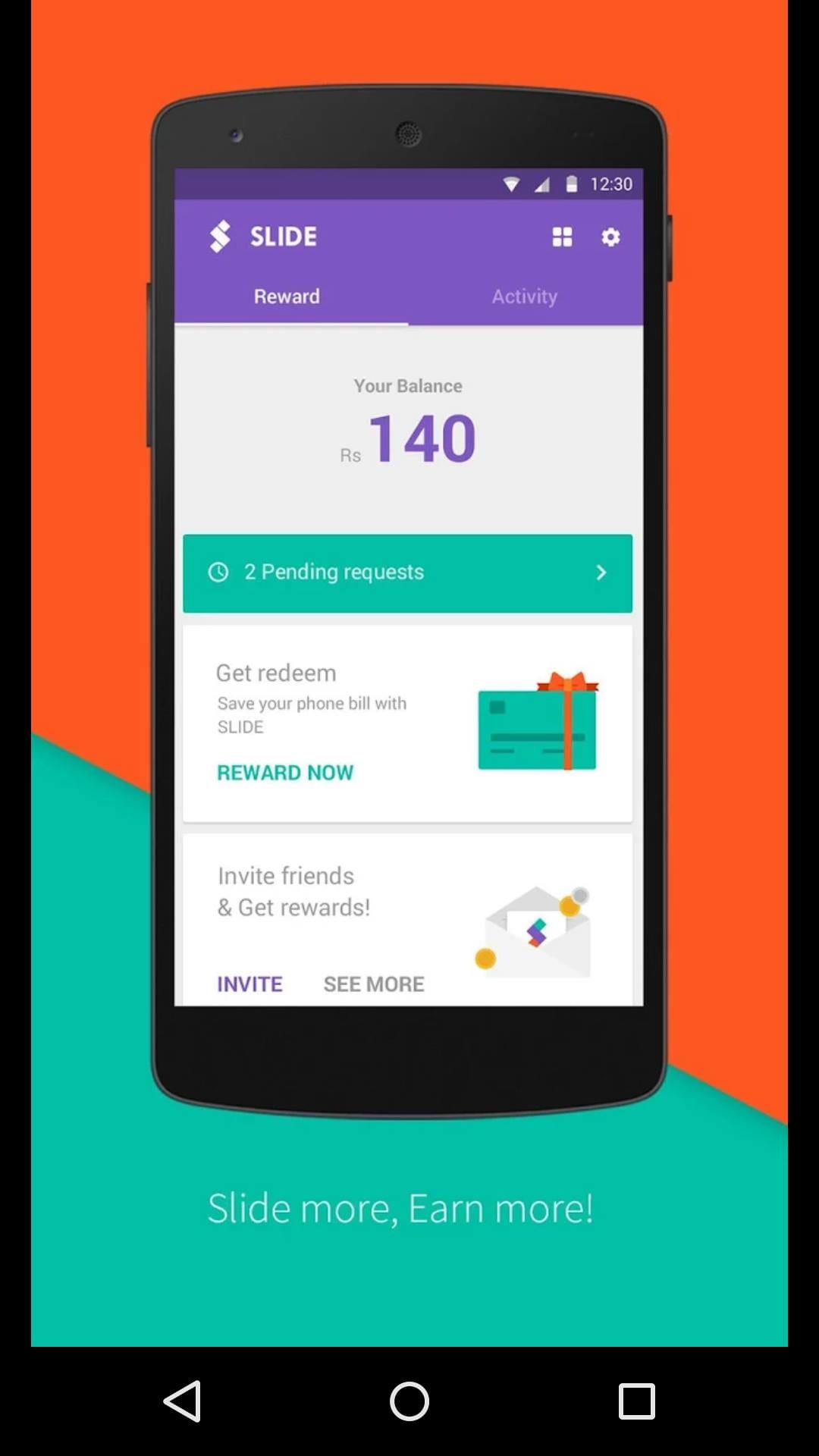 Earn through SLIDE Lock Screen Android App Trending on ...