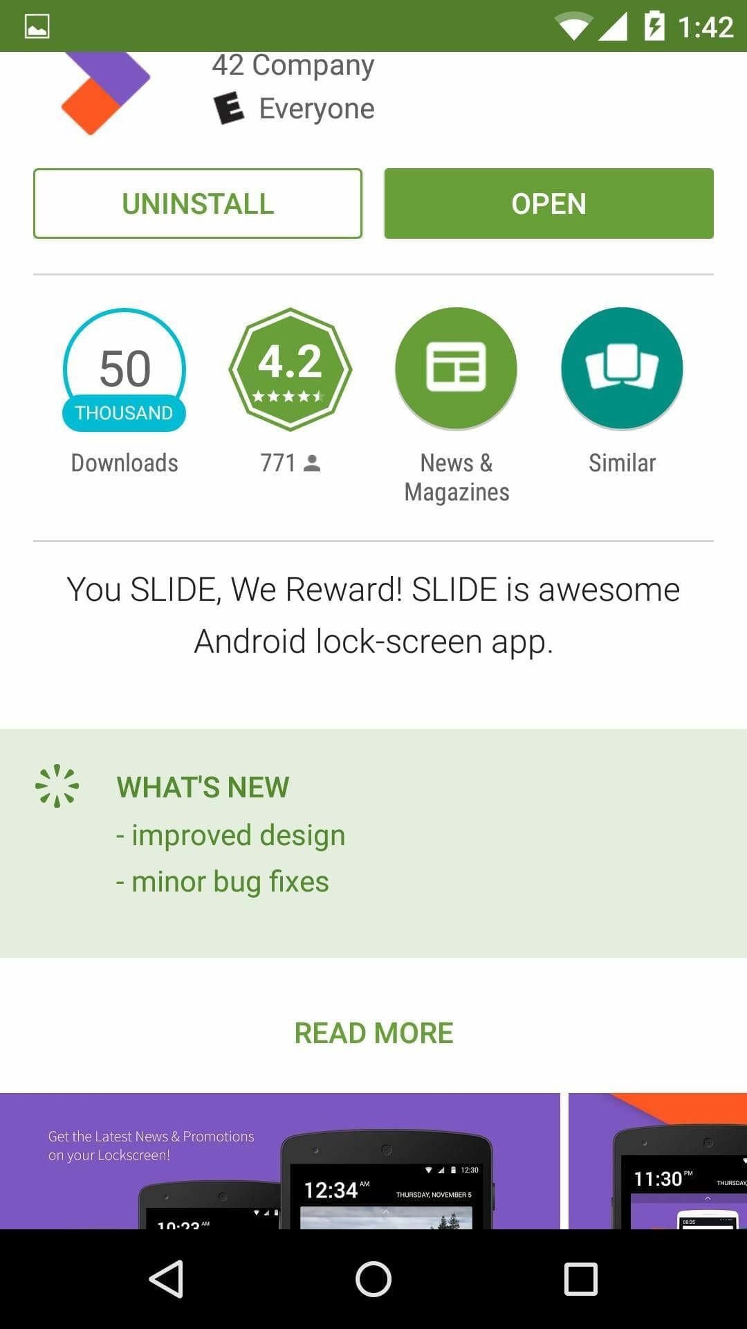 Earn through SLIDE Lock Screen Android App Trending on ...