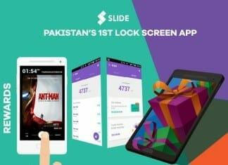 SLIDE Lock Screen App Rewards
