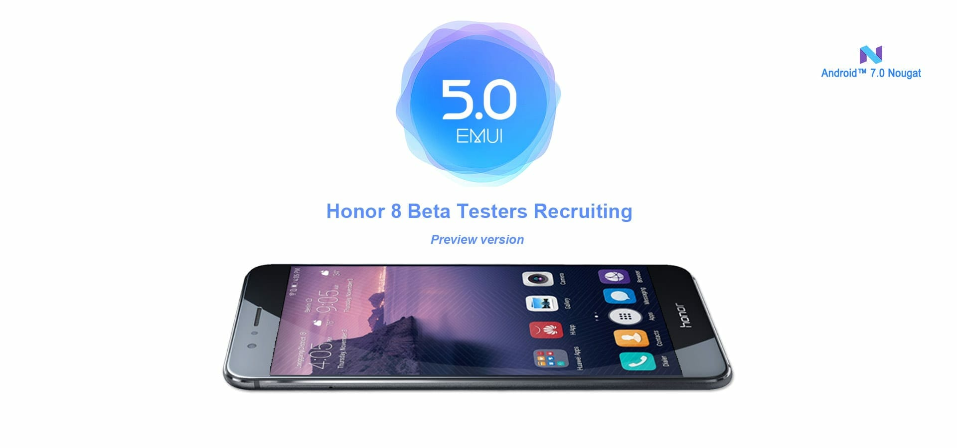 Huawei Honor 8 Update Android 7