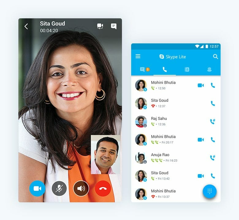 Skype lite less battery usage and improved support for 2g network microsoft released a new and light version of skype for consumers having low end device with poor connectivity this means android phone users with low stopboris Gallery
