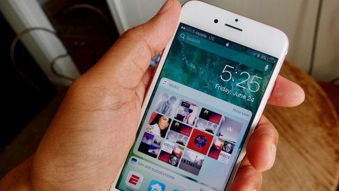 Apple iOS 10.3 iPhone 7