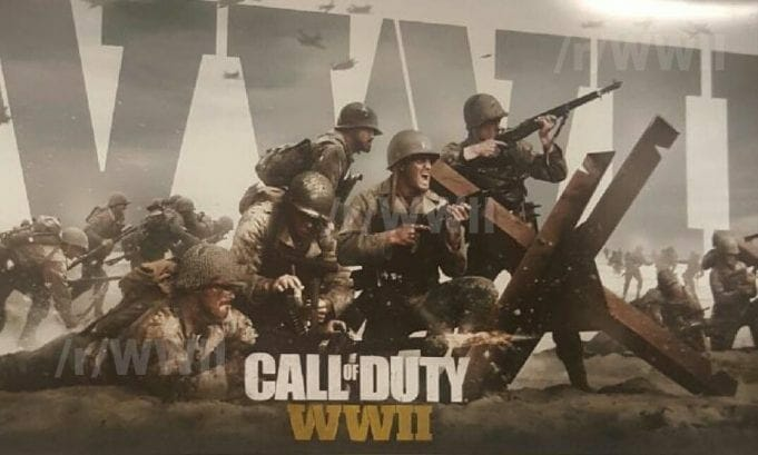 Call of Duty WW2 Leaked Image