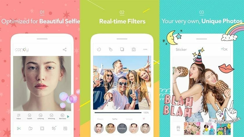 Candy Camera Selfie Camera App