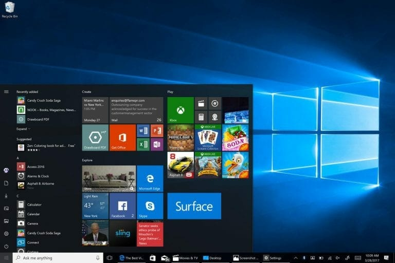 Windows 10 Fall