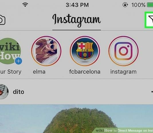 Instagram Message Icon