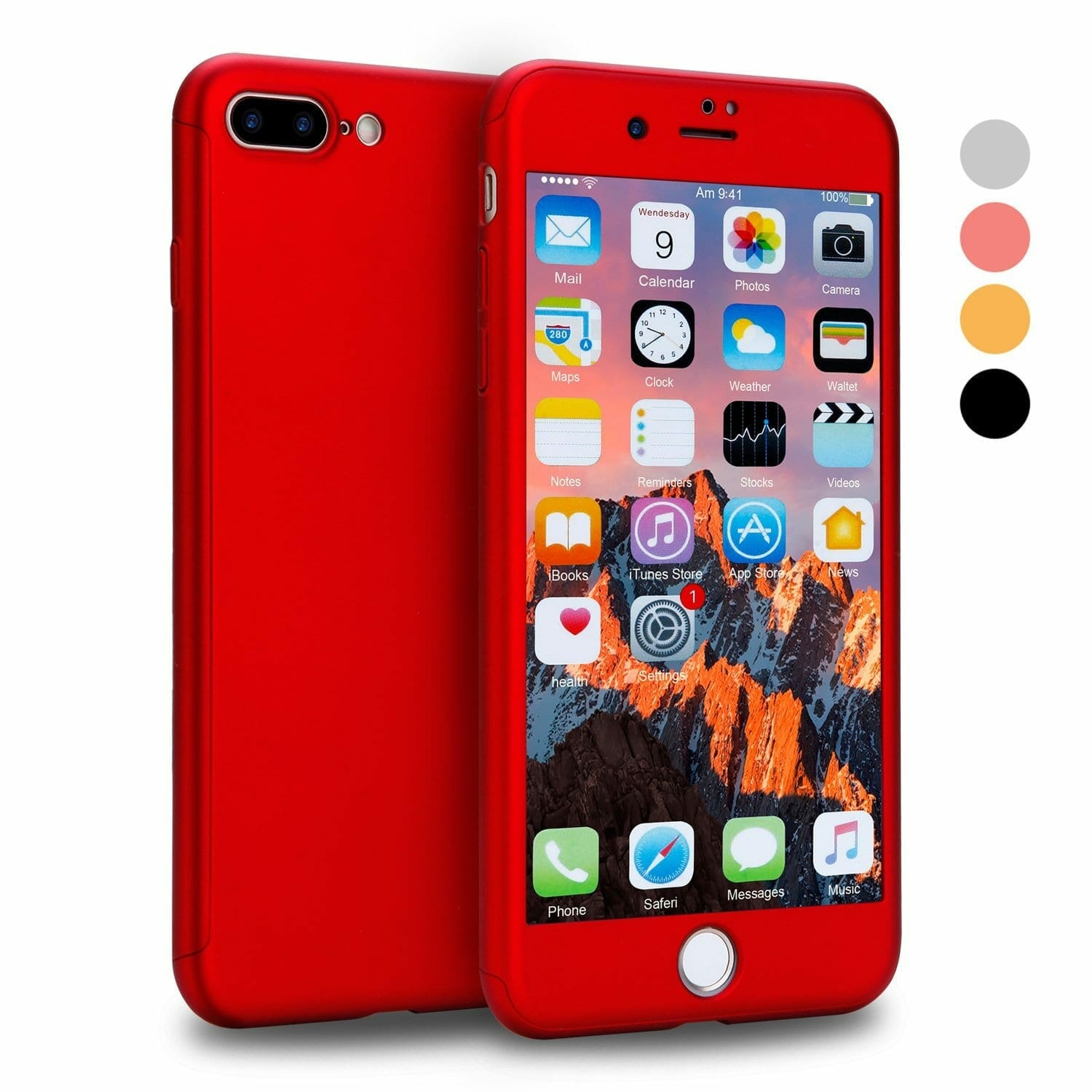 iPhone 7 Plus 360 Protection Case