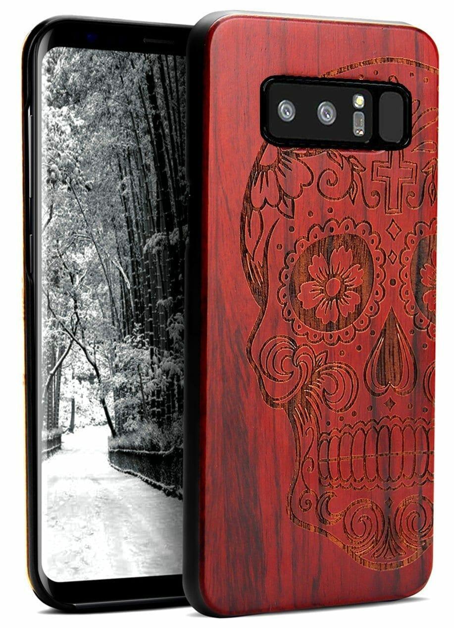 Note 8 wooden case
