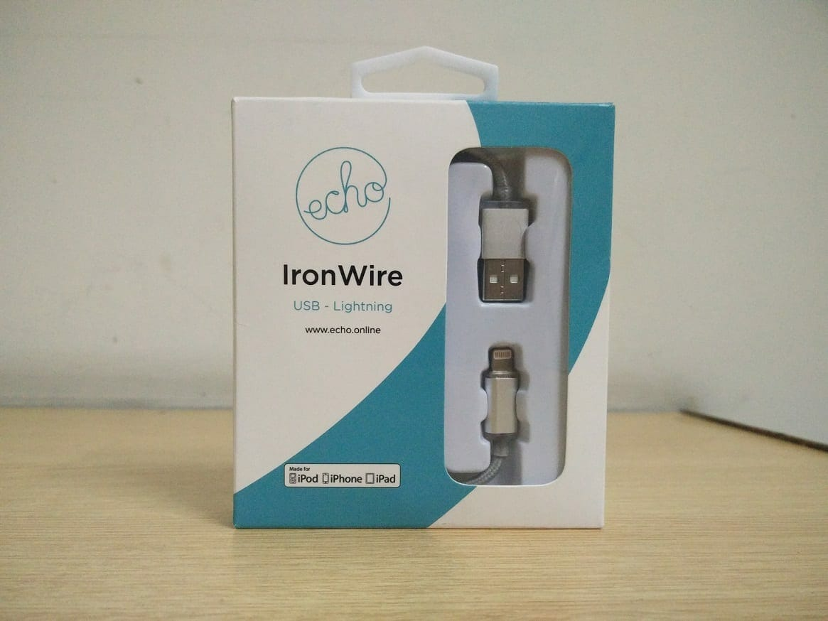 Echo IronWire Usb Lightening Cable