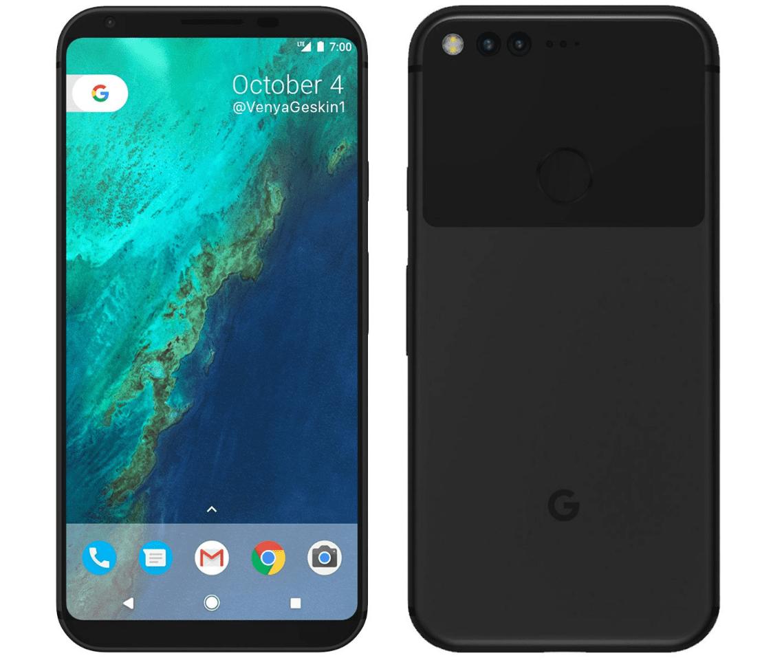 Google Pixel 2 Concept Design