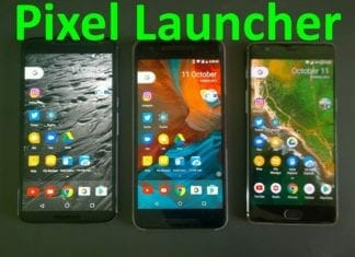 Adnroid Oreo Launcher Pixel Launcher