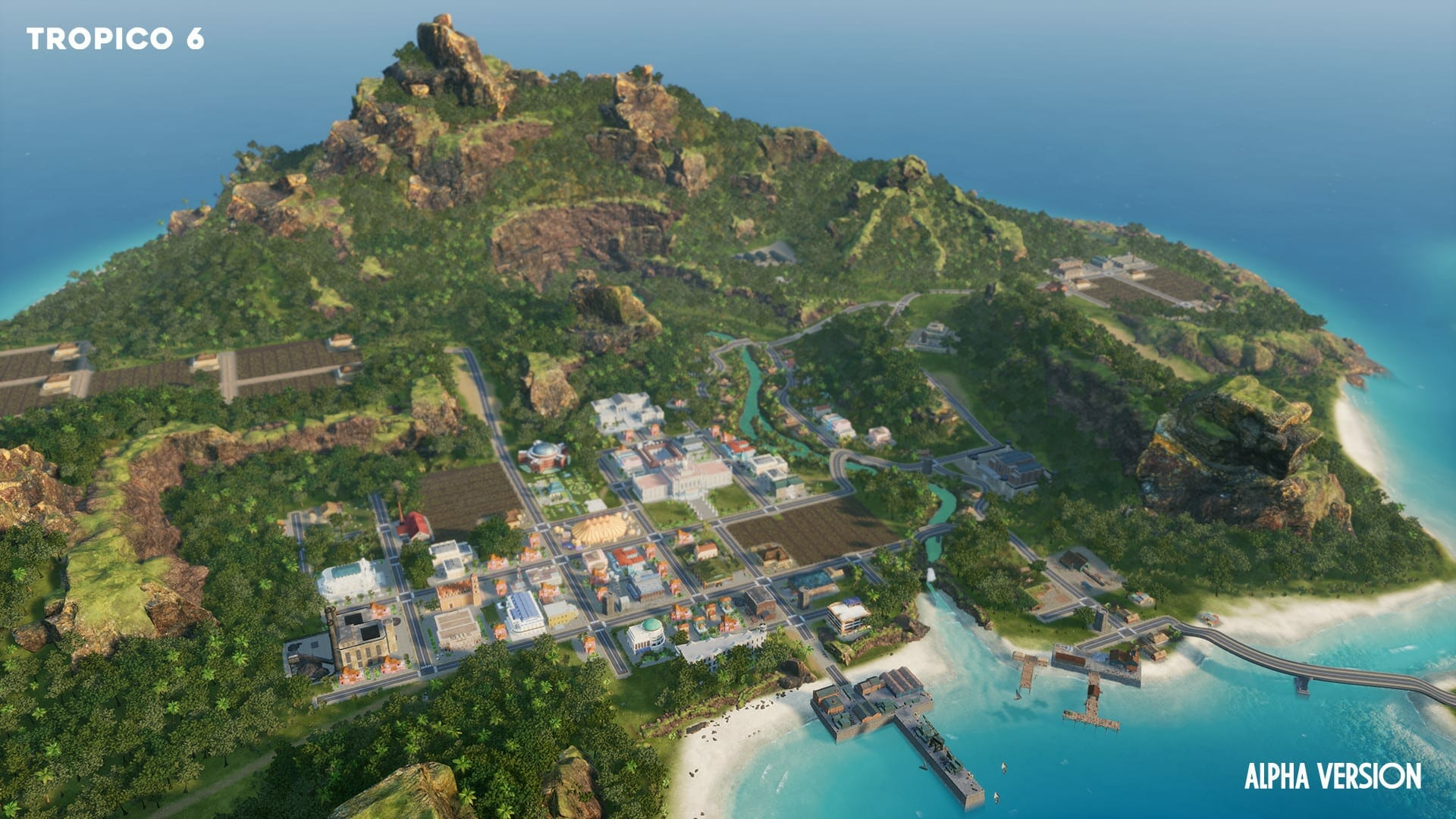Tropico 6 Game Map