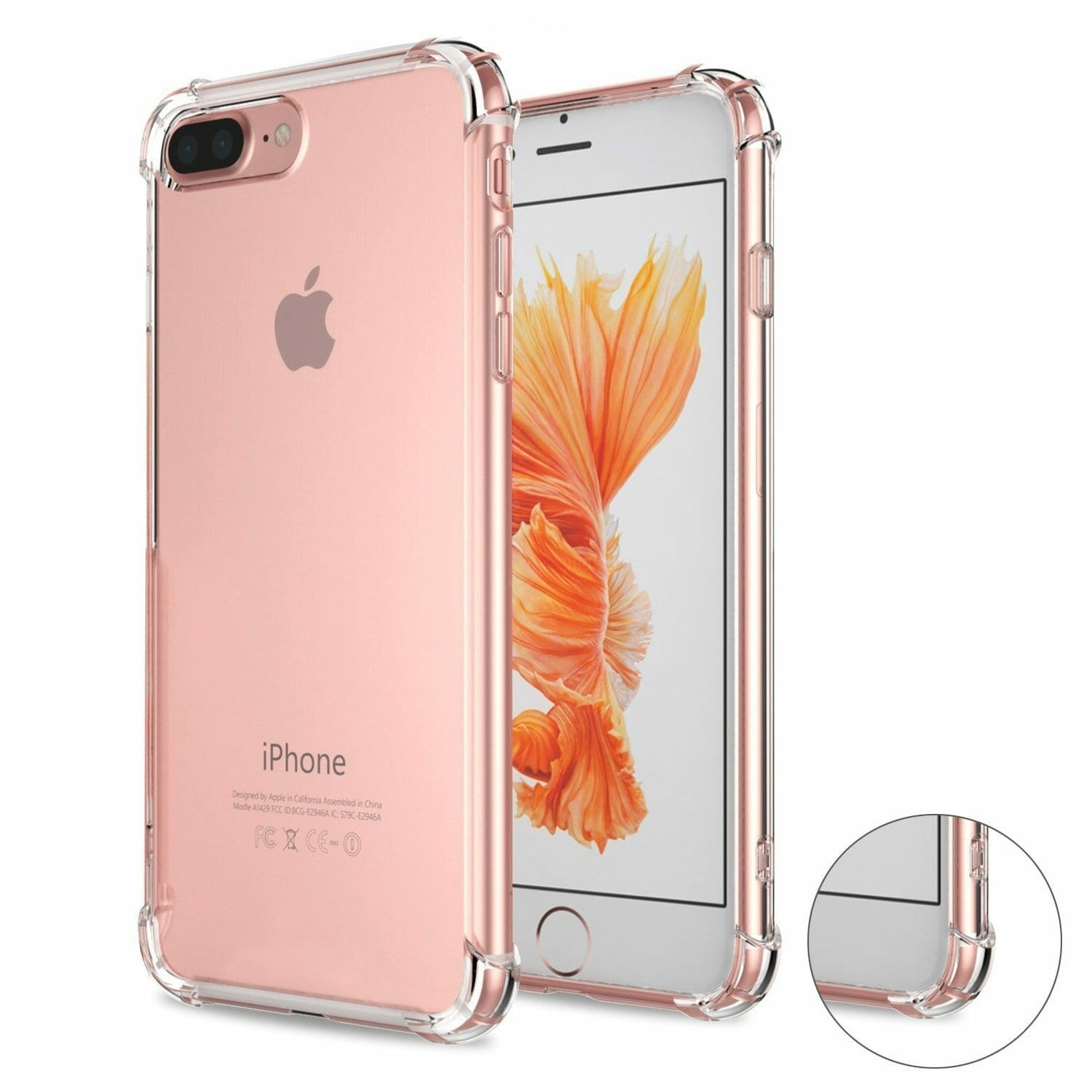 iPhone 7 Plus Crystal Clear Case
