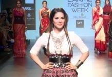 Sunny Leone Lakme Fashion Week