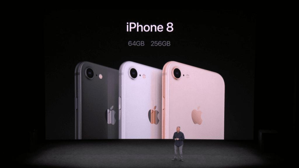 iPhone 8 storage