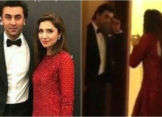 Ranbir Kapoor and Mahira Khan