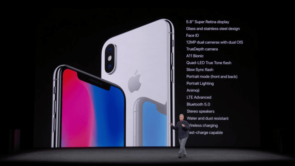 Apple iPhone X Specs
