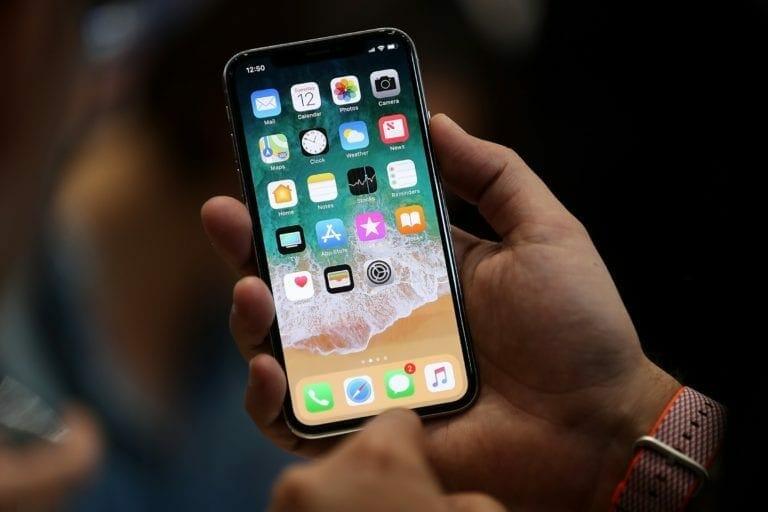 Apple iPhone X Screenshot