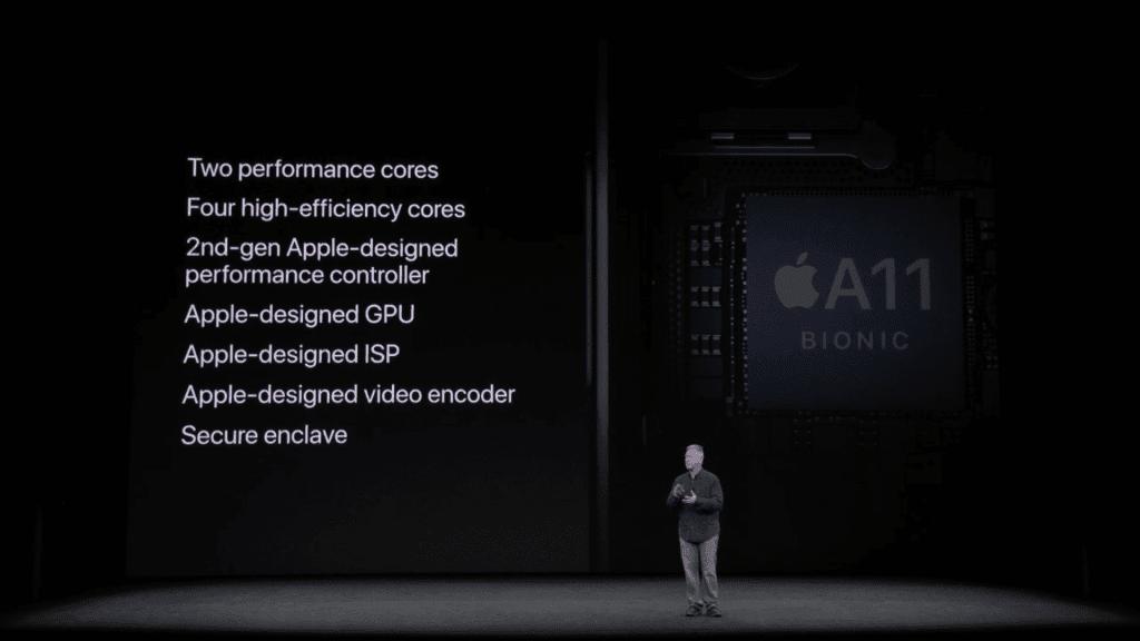 iPhone X CPU