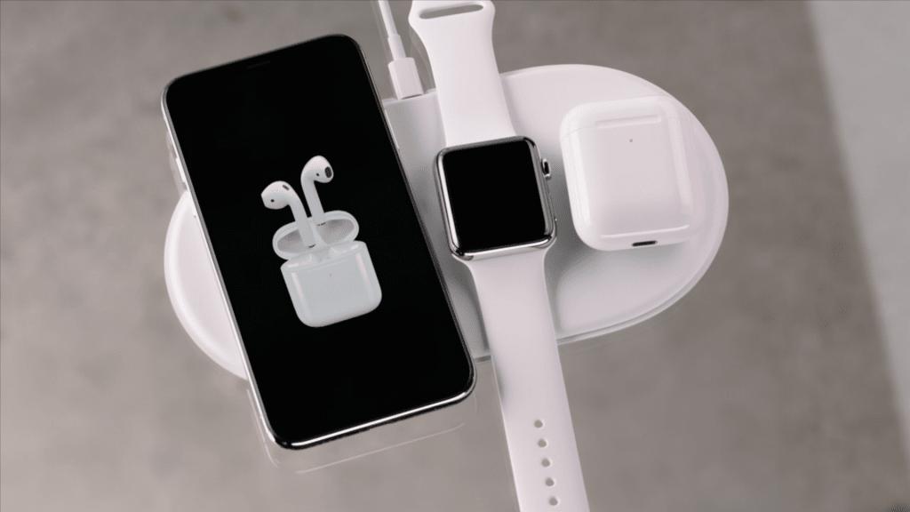 Iphone  Induktion