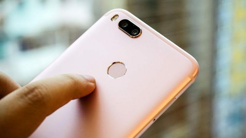 Xiaomi Mi A1 Back Finger Print