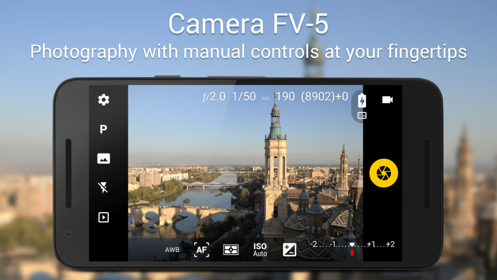Camera FV-5 App for Android Phones