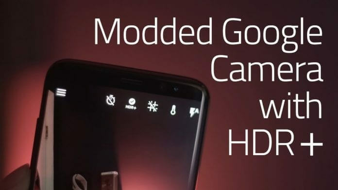 Google Camera HDR+ 5.0 APK