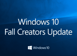Install Windows 10 Fall Creators Update