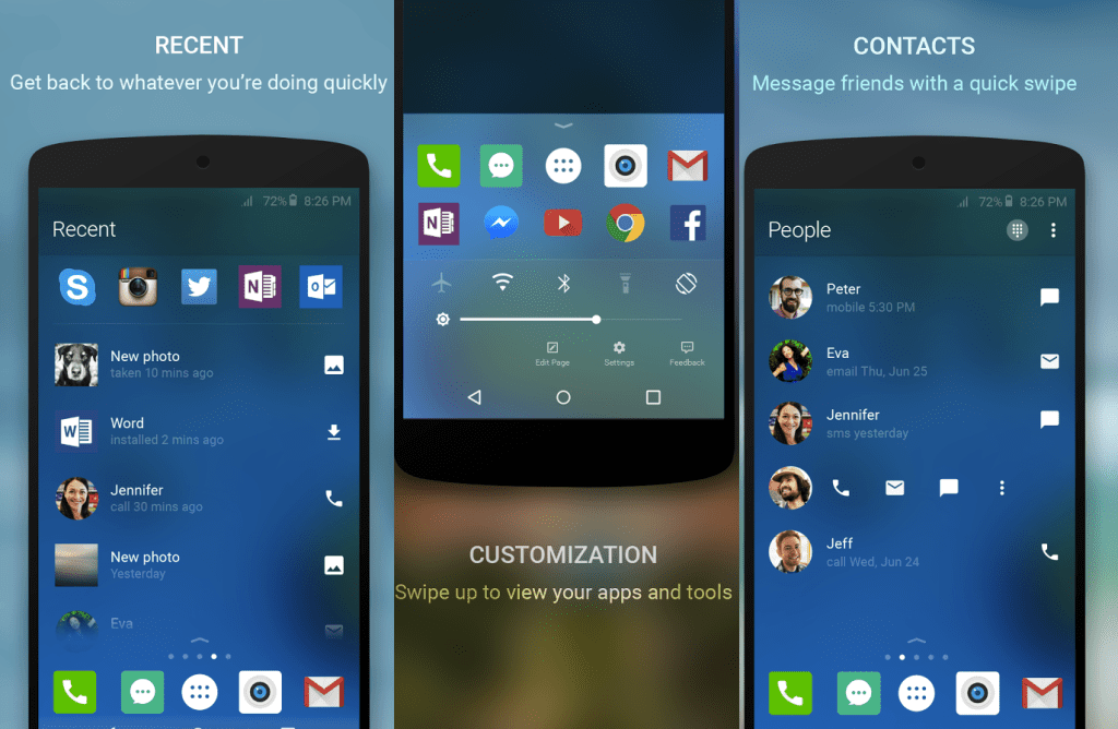Download Microsoft Launcher 4 1 0 37375 APK For Android Devices