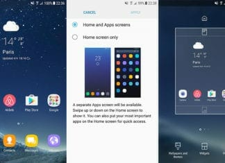 Samsung TouchWiz Home Launcher